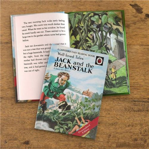 Personalised Jack and the Beanstalk Ladybird Book